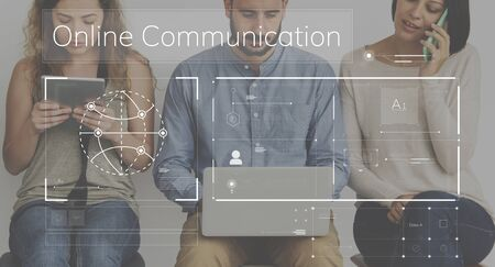 techie: People connected with global communications network
