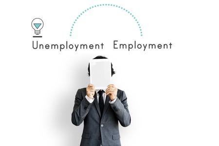 Antonym Tegenover Werkloosheid Werkgelegenheid Toewijzen