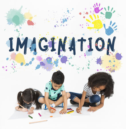 Imagination Creative Ideas Thinkging Vision Stock Photo