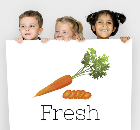 nourishing: Fresh Carrot Healthy Eating Vegetable Food Graphic Stock Photo