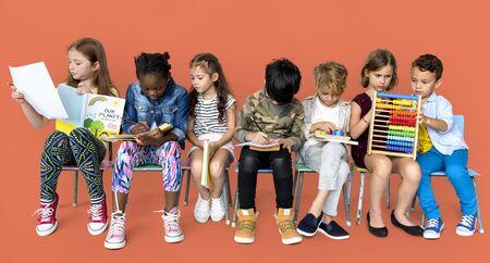 Children Study Learning Studio Concept