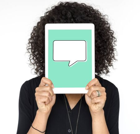 Burbuja del discurso Mensaje Chat Comunicación Gráfico Foto de archivo - 81148904