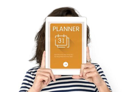 techie: Agenda Timetable Calendar Schedule Concept