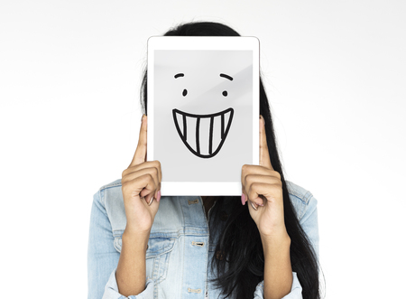 Smile Happiness Cheerful Feeling Emotion Expression Graphic