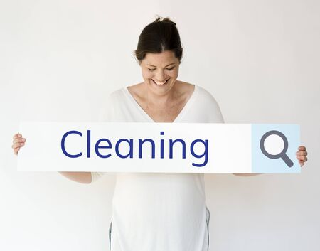 Illustration of hygienic cleaning sanitation