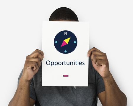Compass of Life Guidance Direction Motivation Opportunity Graphic