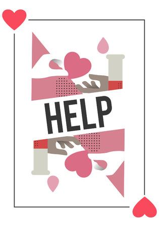 Doação de sangue salvar o conceito de vida Foto de archivo - 81473673
