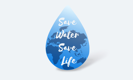 Global Water Sustainable Development March 22 Stock Photo