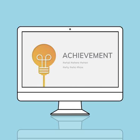 업적 달성 목표 성공 비전 스톡 콘텐츠