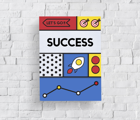 Success Improvement Goals Growth Word Stock Photo - 81477760