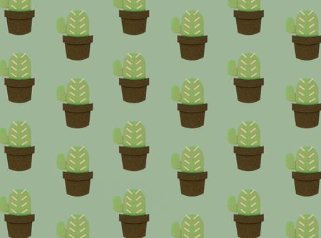 Cactus plant concept