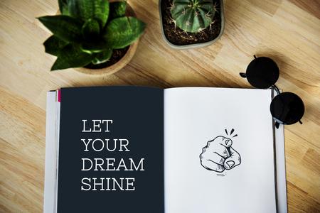 Illustration von Zeigefinger mit motivierten Bestrebungen Standard-Bild - 81374468