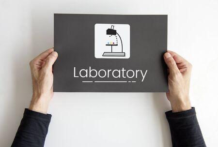 Scientific experiment laboratory study research Stock Photo