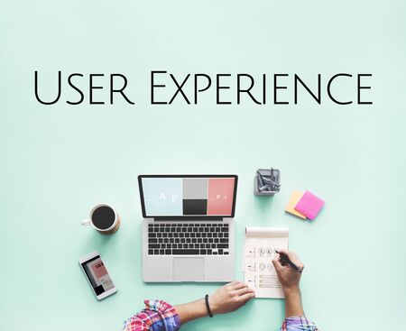 User Experience UX Design Graphic Word