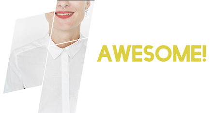 Cool Awesome Inspire Fashion Trands Stock Photo