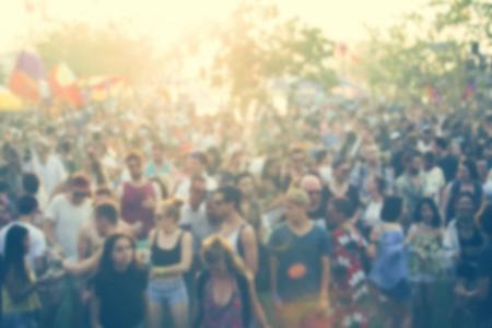 People Enjoying Live Music Concert Festival Reklamní fotografie