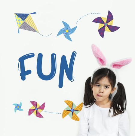 Kindheit Freizeit Hobby Phantasie Konzept Standard-Bild - 81384861