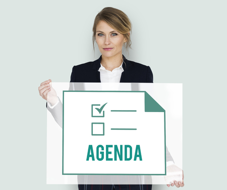 Planner To Do List Agendar Note Graphic Stock Photo