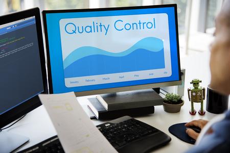 Gráfico de control de calidad Gráfico Resumen mensual
