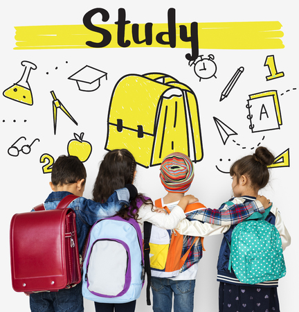 School Institute Study Learning Concept