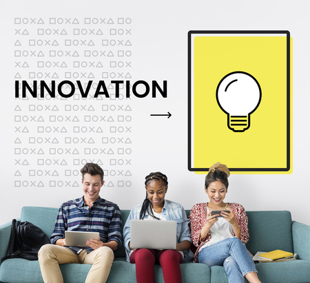 Creative Thinking Innovation Imagination Concept Stok Fotoğraf
