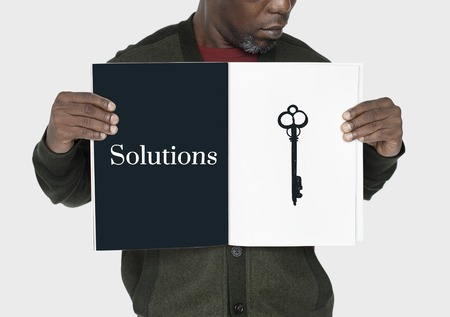 crucial: Significant Change Solutions Answers Solve Concept Stock Photo