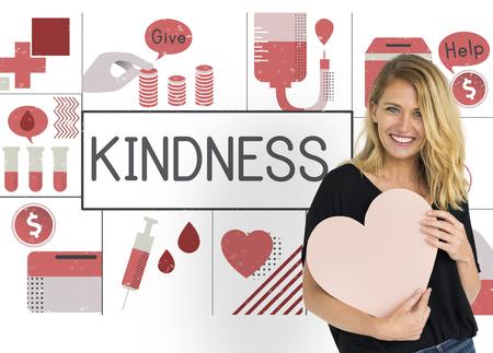 Love Kindness Help Concept de bien-être Banque d'images - 81391462