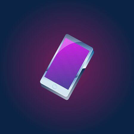 Smartphone Digital Device Technology Concept Illusztráció