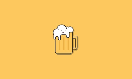 Beer Alcohol Icon Vector Concept