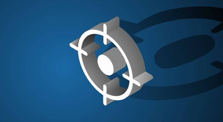Target Aim Aspiration Symbol Icon Concept