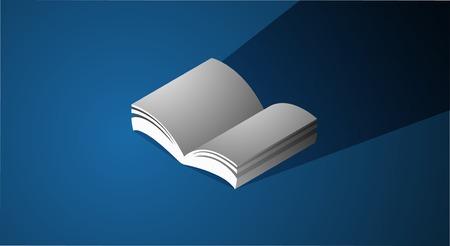 本アイコン グラフィック ページの教育概念  イラスト・ベクター素材