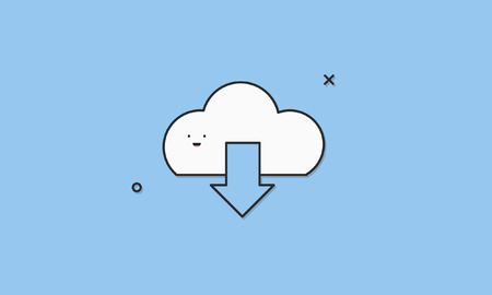Download Cloud Computing Icon Vector Concept Ilustração