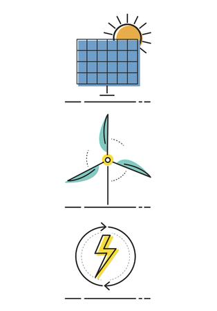 에너지 절약 친환경 개념