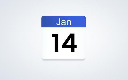 Calendar planner concept Фото со стока