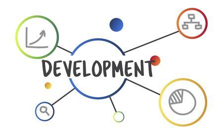 사업 개발 진행중인 진도 개념