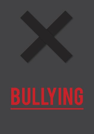 Cyber ??Bullying Abusement Challage Trolling Stockfoto