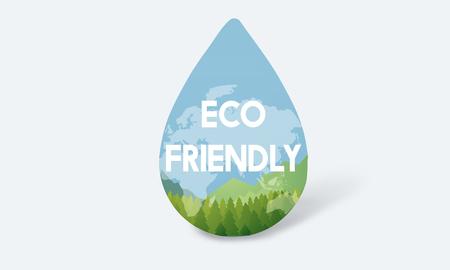 Milieu-ontwikkeling van water op natuurlijke wijze bewaren