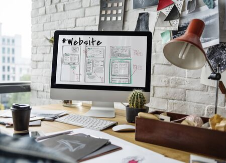 techie: Webpage Content Design Website Icon
