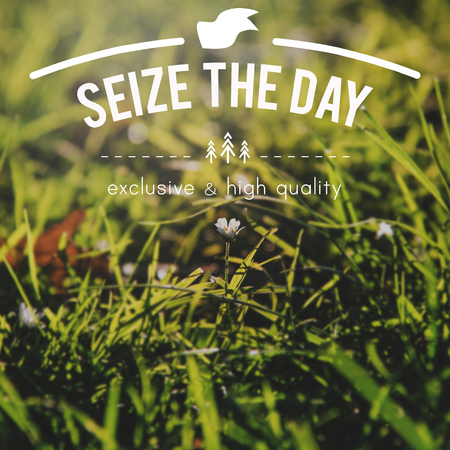 seize: Good Vibes Be Positive Concept