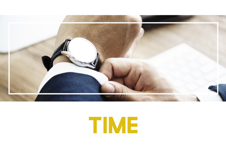 Waiting Time Business Meeting Concept
