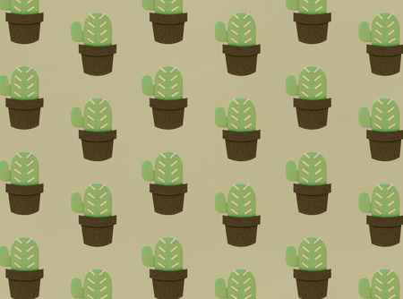 Cactus illustration concept Imagens
