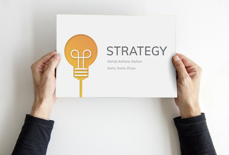 Strategy Mission Planning Process Solution Stok Fotoğraf
