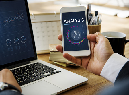 Analysis concept on mobile phone