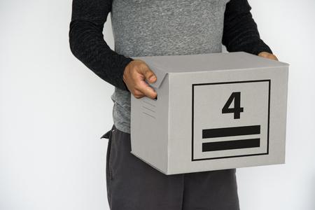 最大スタック カートン パッケージ記号