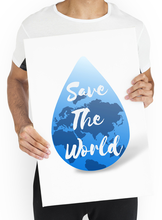 글로벌 워터 지속 가능한 개발 3 월 22 일 스톡 콘텐츠