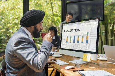 Evaluation Assessment Review Suggestions Surway Stock Photo