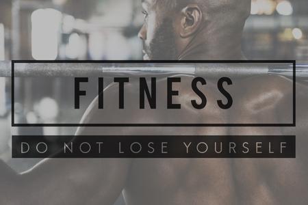 ビルド独自の体強度フィットネス運動フィットを取得