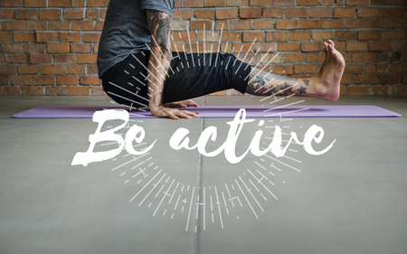 Exercise Active Strong Wellness Healthcare Word