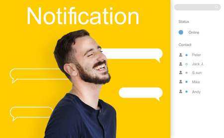 Chat Message Talk Connect Notification Word
