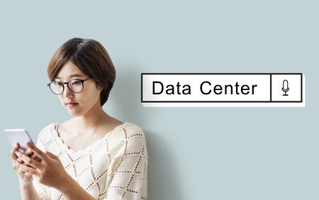 検索データ情報概念を見つける 写真素材